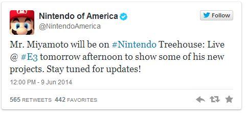Nintendo twitter