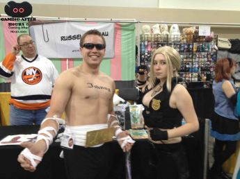 Johnny Cage and Sonya Blade.