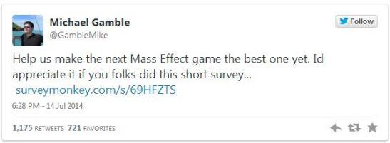 Mass Effect Twitter