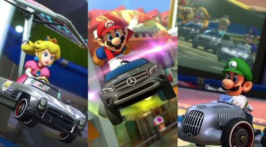 Mario Kart 8 Benz