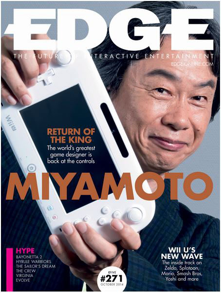 Miyamoto, the father of modern video games (Image: Edge)
