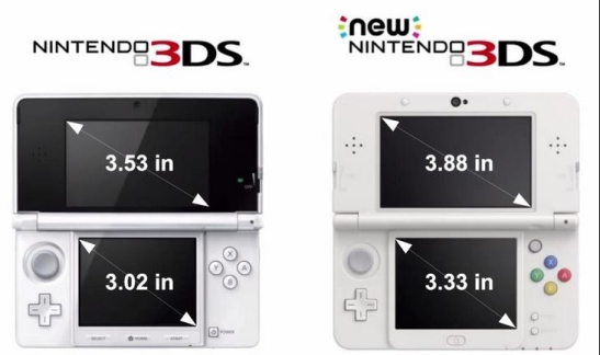 new 3DS comparion