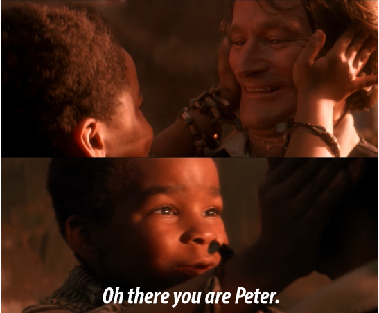 There you are Peter